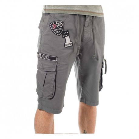 Bermuda homme Von Dutch Texas'19 Gris