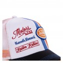 Casquette trucker Von Dutch McQueen Orange zoom avant