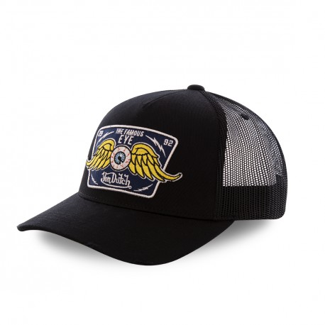 Black Von Dutch New Eye mesh baseball cap