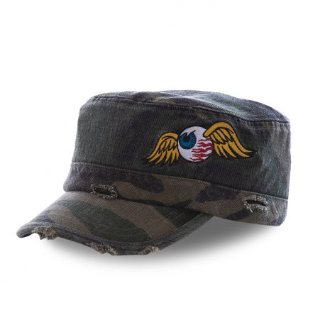 Casquette Von Dutch Army Flying Eye Camouflage