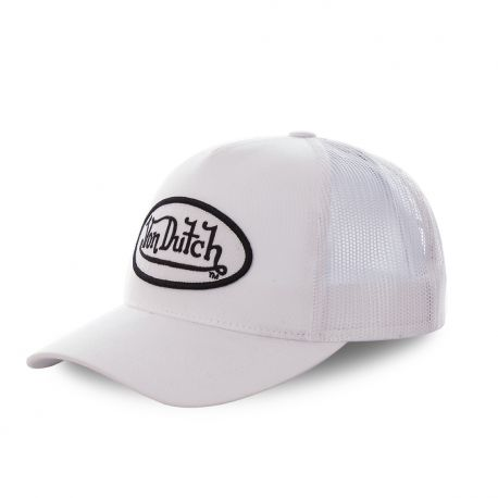 Casquette baseball Von Dutch Colors Blanc