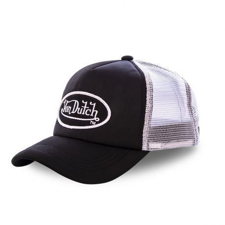 Casquette trucker Von Dutch Fao-M Gris anthracite