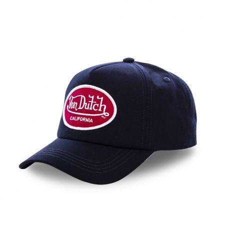 Casquette baseball Von Dutch Jacks Bleu Marine