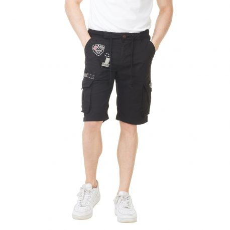 Bermuda homme Von Dutch Texas'19 Noir