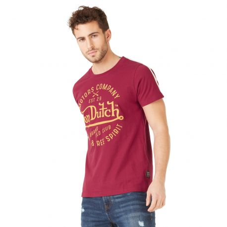 T-shirt homme Von Dutch Phoenix Rouge