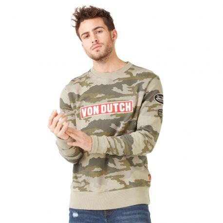 Sweat homme Von Dutch Clint Camouflage