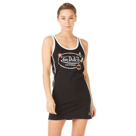 Robe Col Rond Von Dutch Ivy Noir