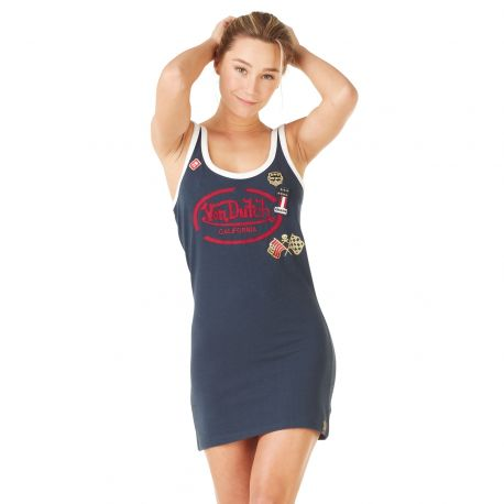 Robe Col Rond Von Dutch Ginger Bleu Marine