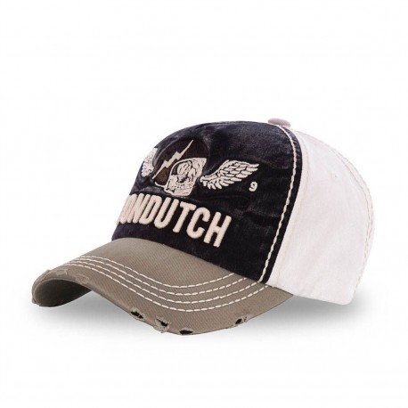 Grey and Black Von Dutch Xavier baseball cap