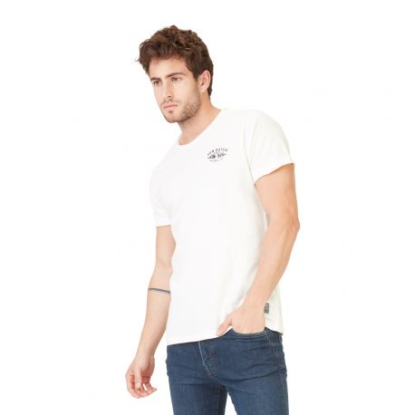 T-shirt homme Von Dutch Gardy Ecru