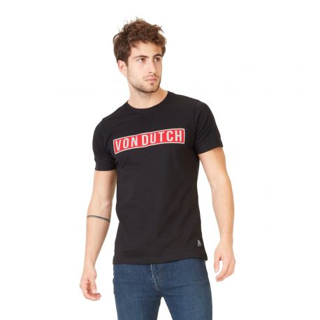 T-shirt homme Von Dutch Bells Noir