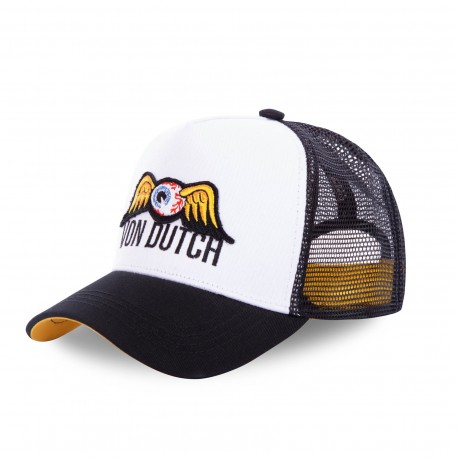 Baseball cap Von Dutch Black and Yellow Colours