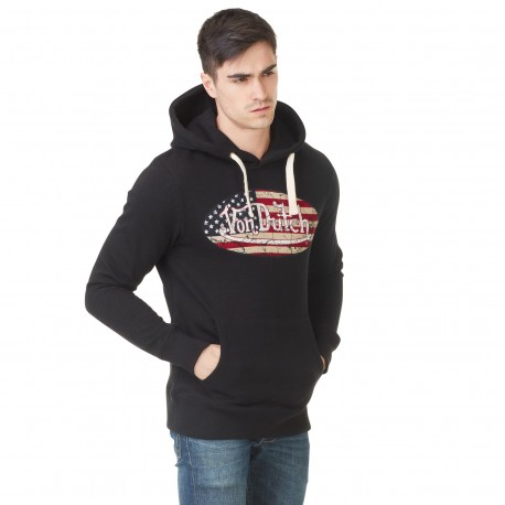 Men's Sweatshirt Von Dutch Logo Black