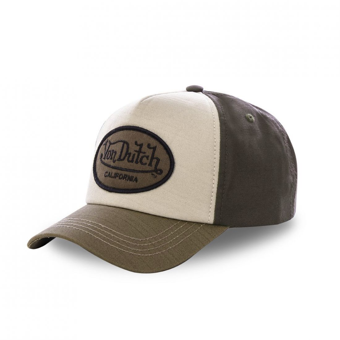 Casquette baseball Von Dutch Jacks Marron Ecusson Marron