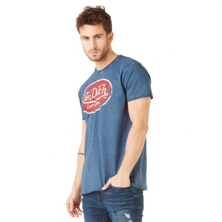 T-shirt homme Von Dutch Aaron'19 Bleu