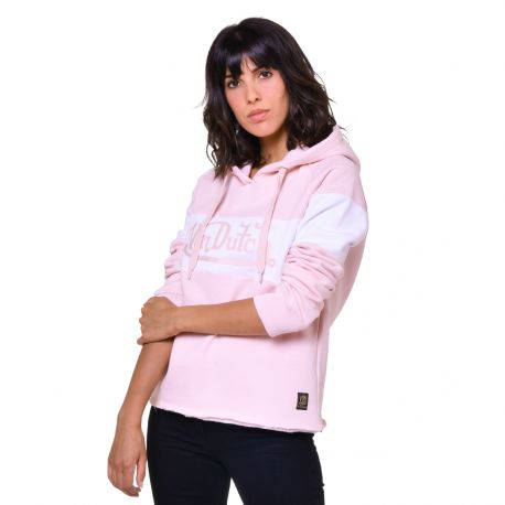 Sweat Femme Von Dutch Naomi Logo Rose
