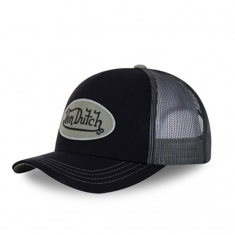 Men's Von Dutch black and green Col baseball cap