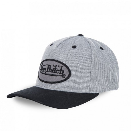 Casquette baseball homme, Smith Logo Gris