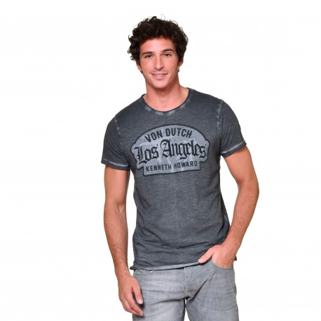 T-shirt col V homme Los Angeles