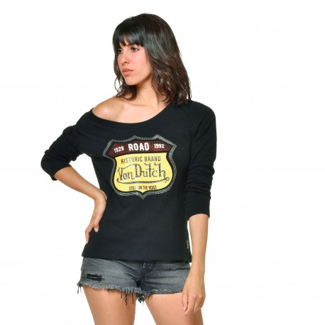 Women's Von Dutch Amy black sweatshirt