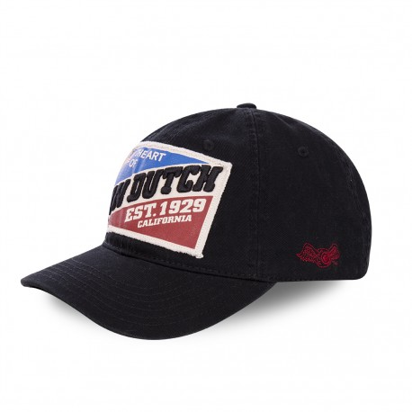 Von Dutch Patriot baseball cap black