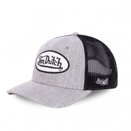 Von Dutch Terry baseball cap with mesh