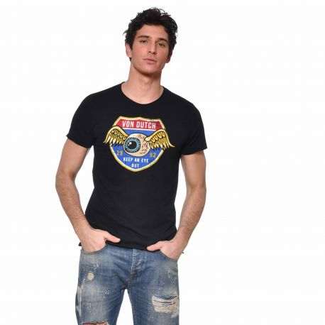 T-shirt col rond homme Keep an Eye Out vue de face