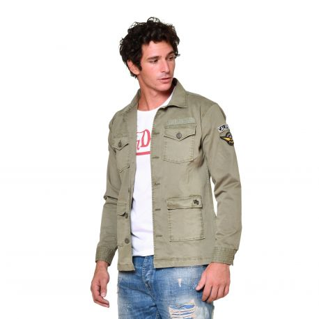Veste fine homme Soldier side