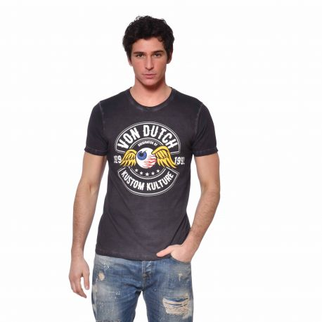 T-shirt homme col rond Ralf