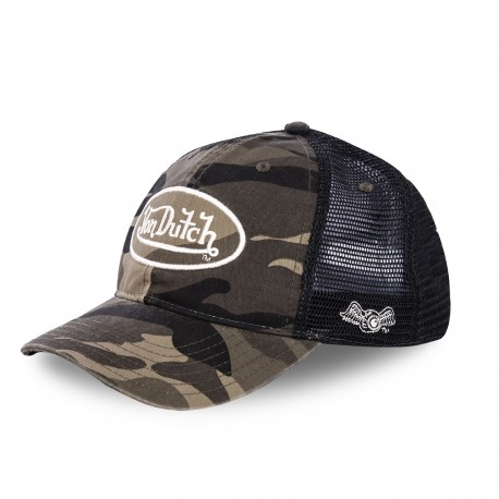 Von Dutch Army baseball cap with mesh