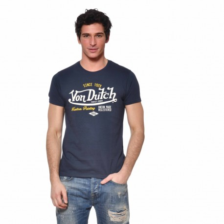 T-shirt Von Dutch homme Paint