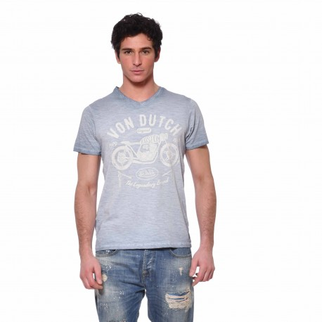 T-shirt col V homme The Legendary Brand Von Dutch