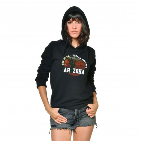 Women's Von Dutch Jane black sweatshirt