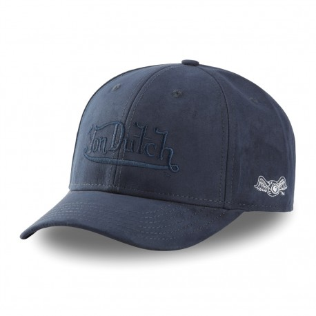 Von Dutch Suedine blue baseball cap