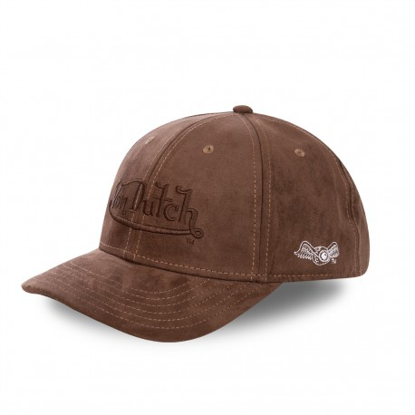 Von Dutch Suedine brown baseball cap