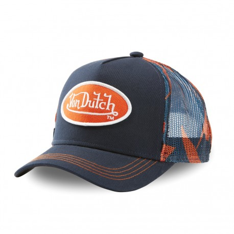 Von Dutch Abob blue trucker cap