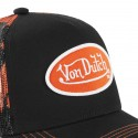 Von Dutch Abob Black Trucker Cap