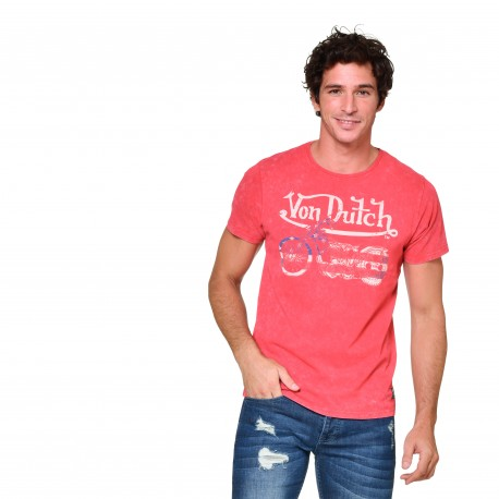 T-shirt col rond homme US Motorcycle