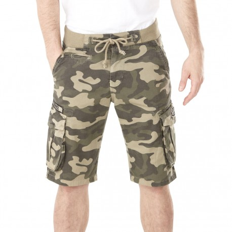 Von Dutch men's camo Neva bermudas front
