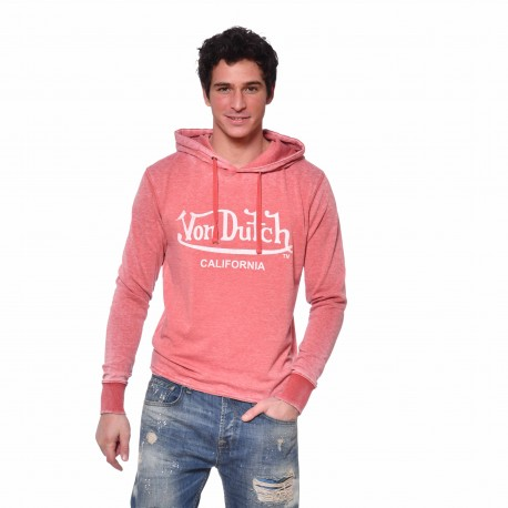 Men's Von Dutch Easy sweatshirt with hood front