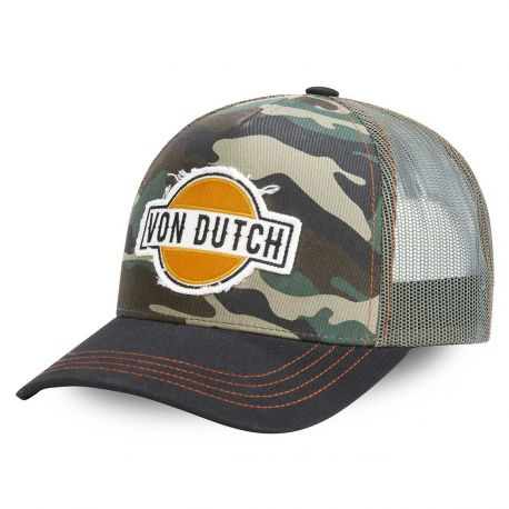 Von Dutch Aban camo trucker cap