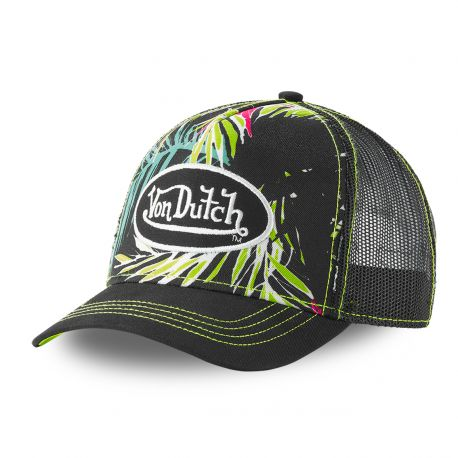 Von Dutch Ahig black trucker cap