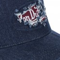 Casquette baseball homme Von Dutch Jean's Used