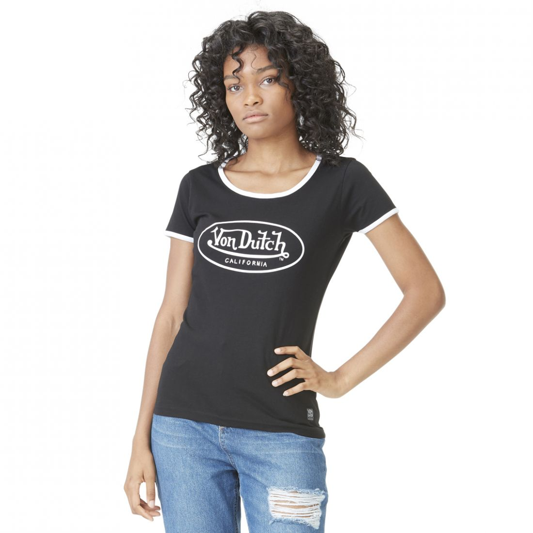 T-shirt femme Col rond Kaly