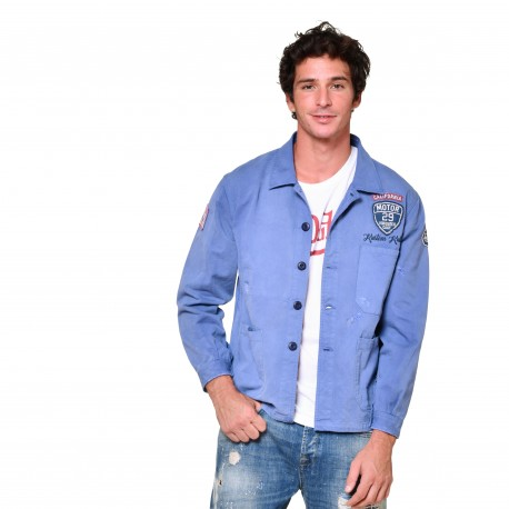 Men's coton Work Blue Denim Jacket