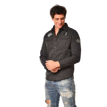 Chemise homme Manches Longues Stamp