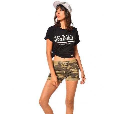 Short court femme camouflage Self