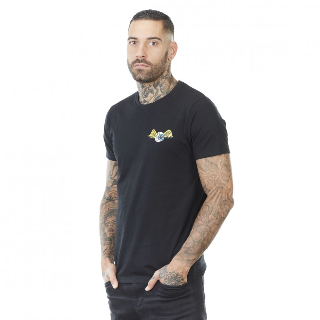 T-shirt homme Col rond Eye