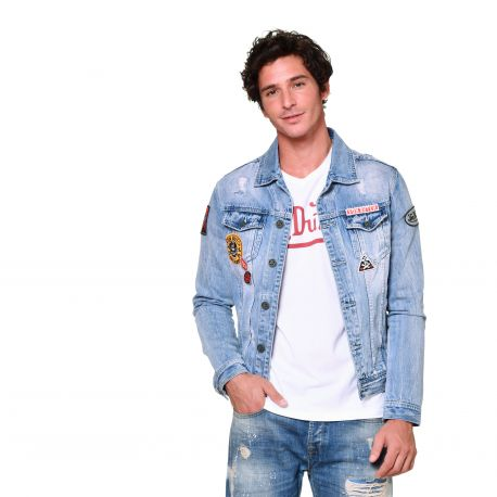 Von Dutch Blouson Veste Jean Sally