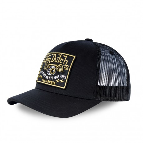 Casquette baseball filet Black Eye Noir